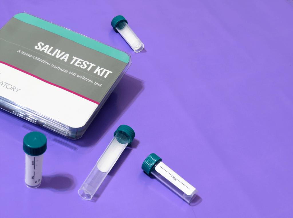 saliva test kit