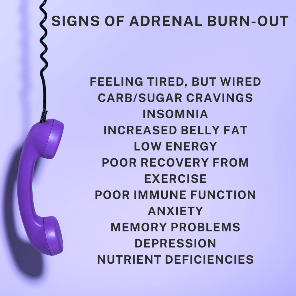 signs of adrenal burnout