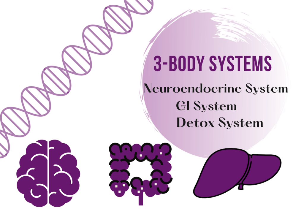 23 Nutrition Therapy Rebalance 3 Body Systems Product